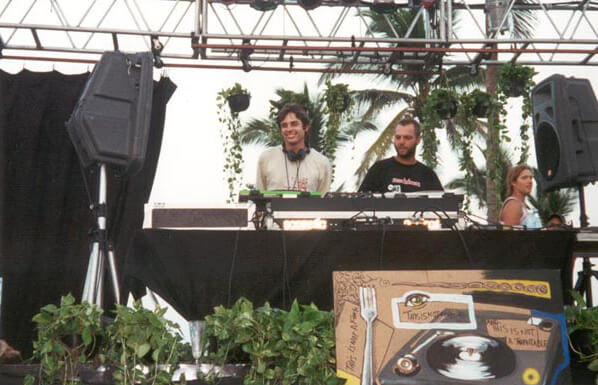 Ben Annand Aca World Sound Festival 2000