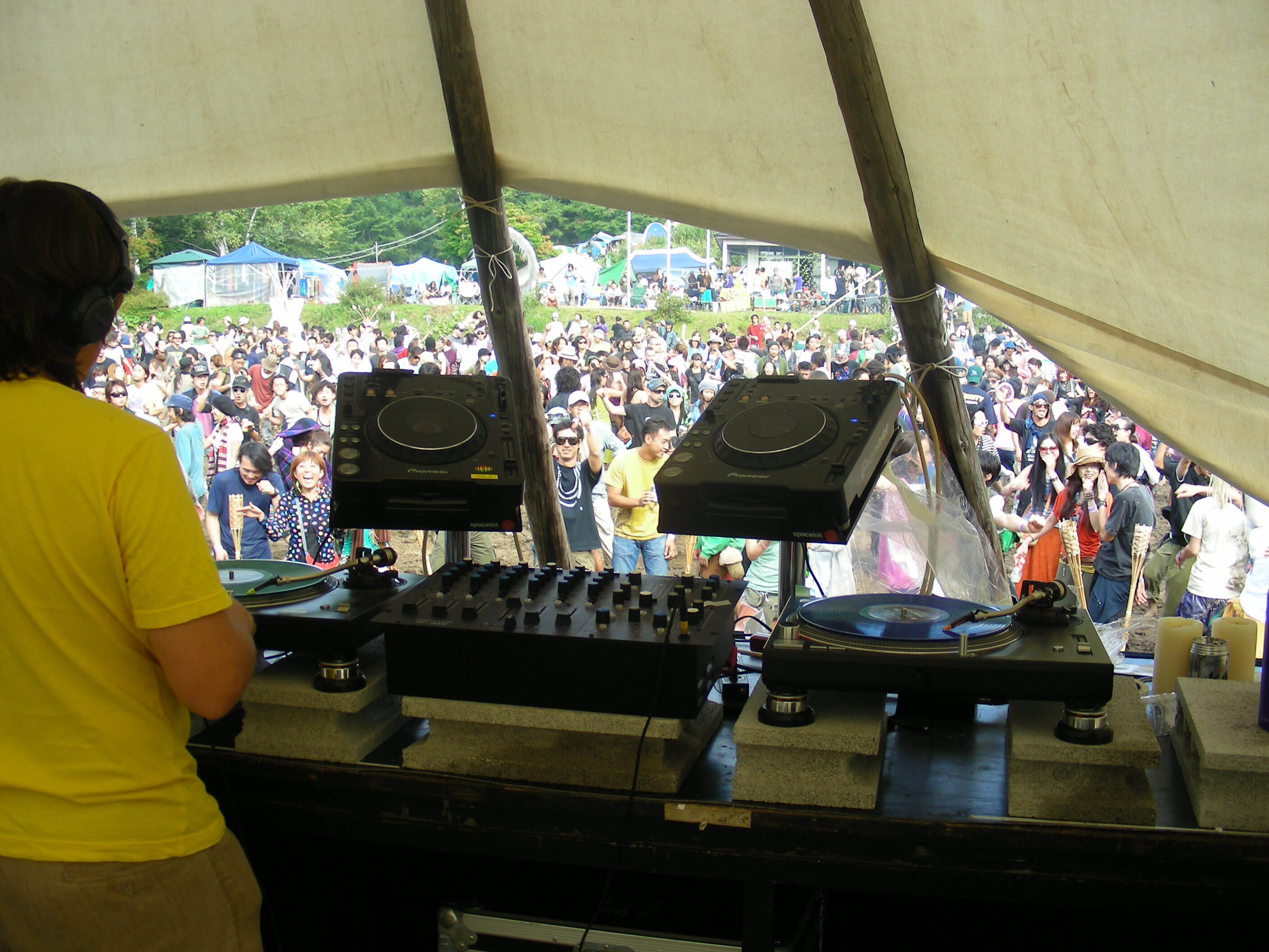Ben Annand at Labyrinth Festival Japan 2008